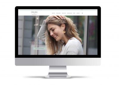 Webdesign & Branding Living Labels